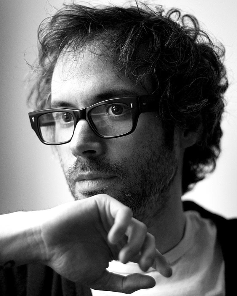 James Rhodes (foto de Erin Brubacher).