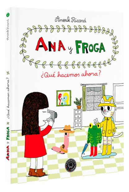 libros para aprender a leer comic ana y froga