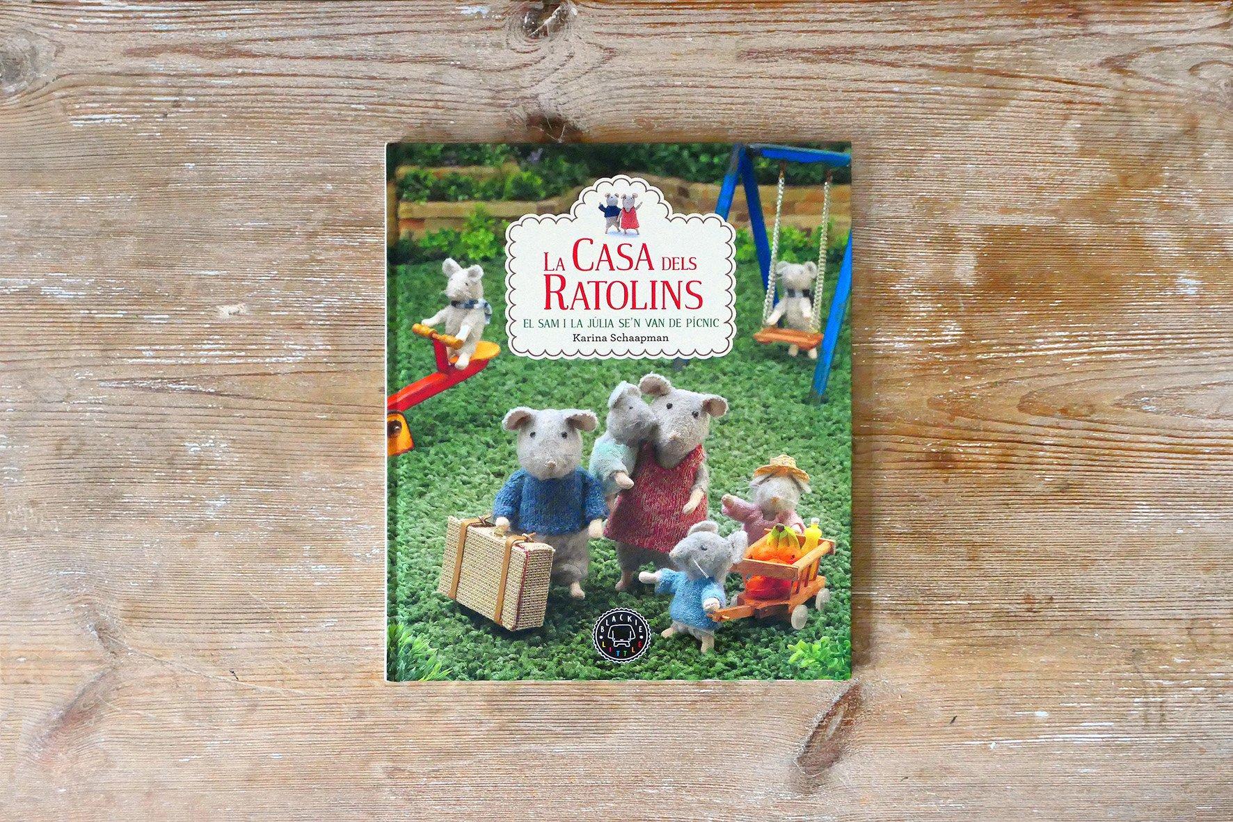 La casa dels ratolins el sam i la j lia se n van de picnic blackie books - La casa dels ratolins ...